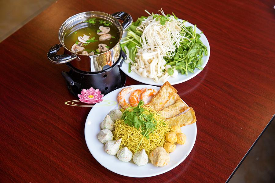 H02. Mixed vegetables hotpot